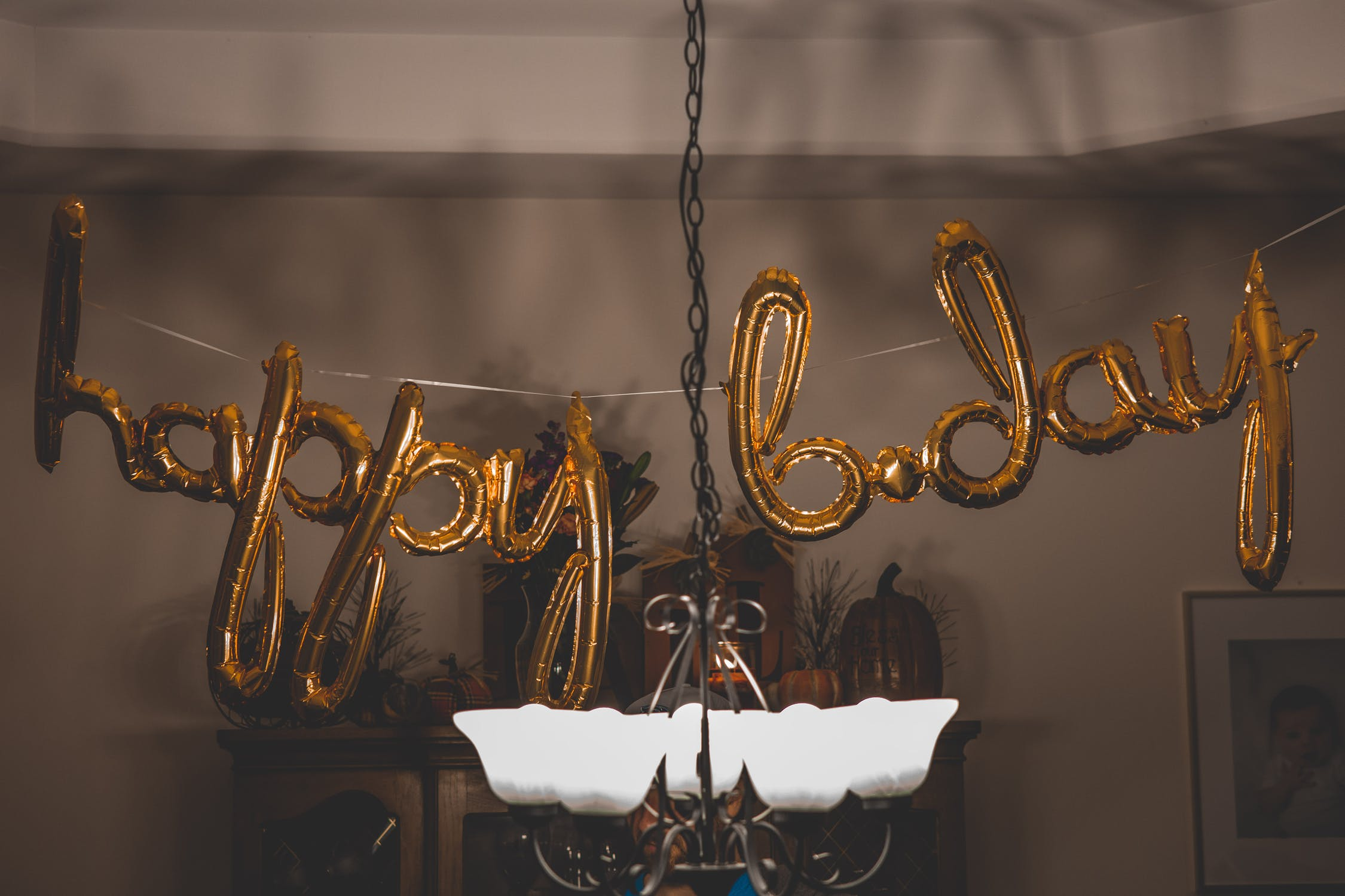 balónkový nápis