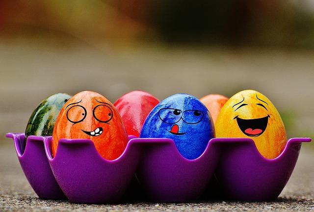 legrační vajíčka