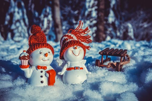 vánoční sněhuláci