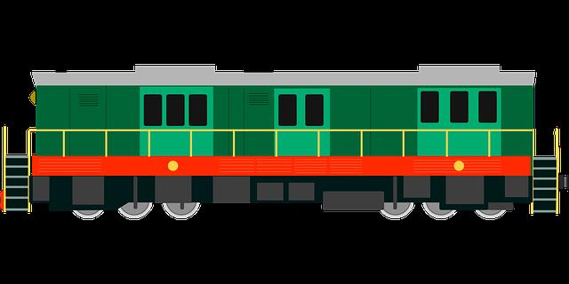 obrázek zeleného vagónu