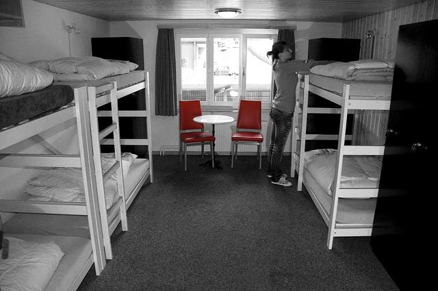 ubytování pro více studentů – palandy